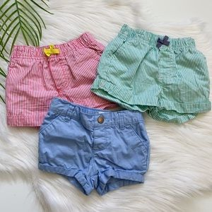 Carters Baby Girl Shorts Size 12 Months (3)